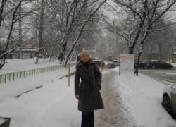 Снежная Москва и «Рак не приговор!»